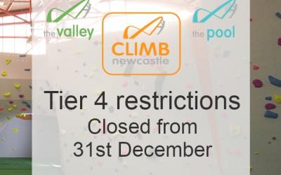 Tier 4 Temporary Closure