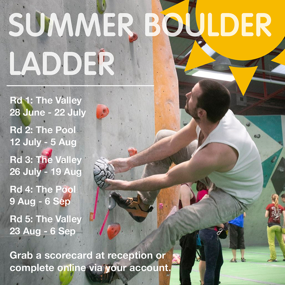2019 Summer Ladder Poster